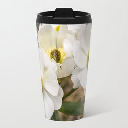 Mount Cook Lily in New Zealand Travel Mug
