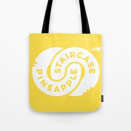 PineappleStaircase   Official Logocolor 2016 in Yellow/White Tote Bag