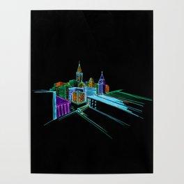 Vibrant city 2 Poster