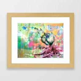 Garden of a War  Framed Art Print