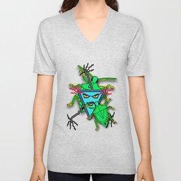 Crawlers and Bugs Unisex V-Neck