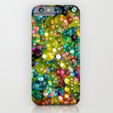 Sparkling Rainbow Bubbles Slim Case iPhone 6