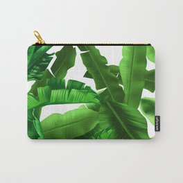 tropical banana leaves pattern Carry-All Pouch