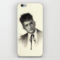 zayn malik iPhone & iPod Skins featuring Zayn by Creadoorm