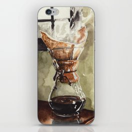 Filter Coffee, For the Chemex Lover iPhone Skin