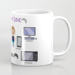 Technology Love Coffee Mug