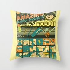 Amazing School Projects Throw Pillow