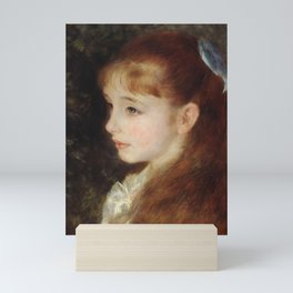 Portrait of Mademoiselle Irène Cahen d'Anvers (Little Irene) Mini Art Print