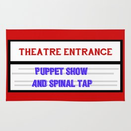 Spinal Tap are support act Rug