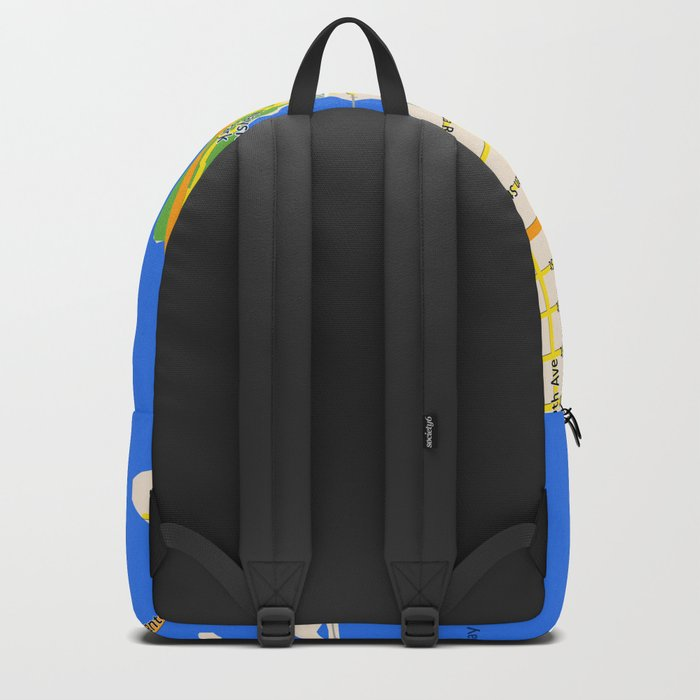 Map of Pensacola, FL - East Hill Christian School Backpack