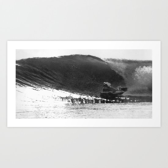 Greenough films wave Art Print