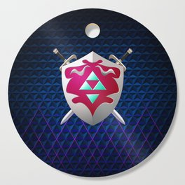 legend of zelda shield Cutting Board