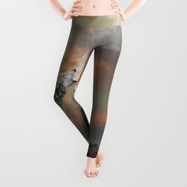 Climb Mountains Not So the World Can See Leggings