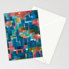 Three Yellow Dots Stationery Cards