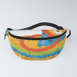 Abstract Mexico Inspired Pinata Design Fanny Pack