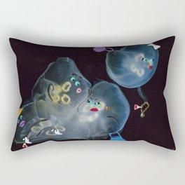 Bargain Shoppers Rectangular Pillow