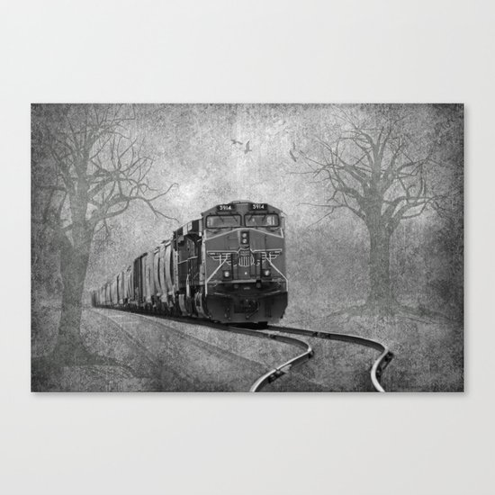 The Train Canvas Print