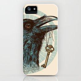 Raven's Head iPhone Case