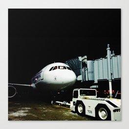 DUDE, where's my plane? Canvas Print