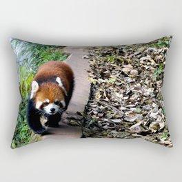 Red Panda in Chengdu Rectangular Pillow