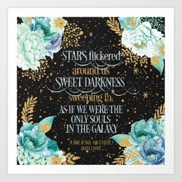 A Court of Frost and Starlight - Sarah J Maas Art Print