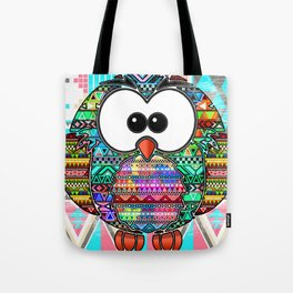 owl aztec tribal best design Tote Bag