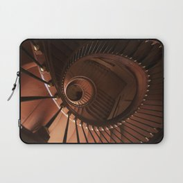 Spiral staircase in browns Laptop Sleeve