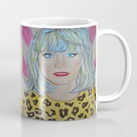 jared leto Mugs featuring Jared Leto as RAYON by Jenn