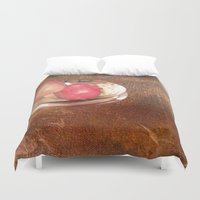 thanksgiving Duvet Covers featuring Thanksgiving by Bonnie M. Cummings ~ BeauCollage