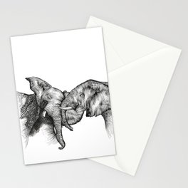 elephants Stationery Cards