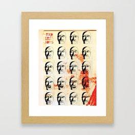 Expressions Framed Art Print