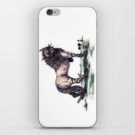 Wolf Princess iPhone Skin