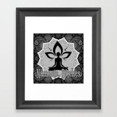 Namaste B**ches Framed Art Print