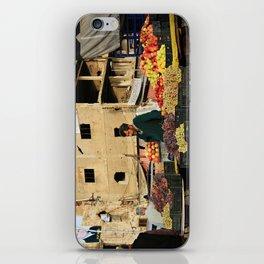 Fruit Vendor; Tripoli, Lebanon. iPhone Skin