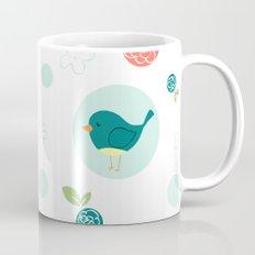 Birds with Polka Dots Mug