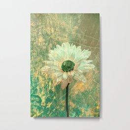 Abstract Daisy Metal Print