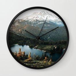 Sunrise Kingdom Wall Clock