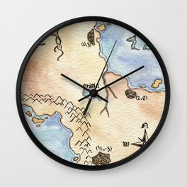Reciprocal Wall Clock