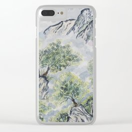 It's so green Clear iPhone Case