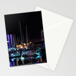 Barbican Marina By Night Stationery Cards