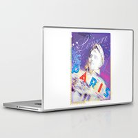 posters Laptop & iPad Skins featuring Paris Posters - Napoleon by G_Stevenson
