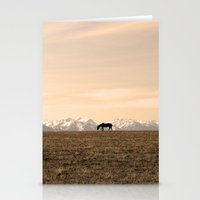 montana Stationery Cards featuring Montana Landscapes by Owl's Iris Photography
