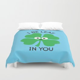 Cloverwhelming Support Duvet Cover
