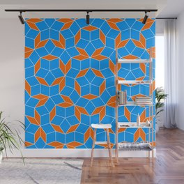 Penrose Tiling Pattern Wall Mural