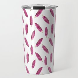 Cacao Fruits Pattern Travel Mug