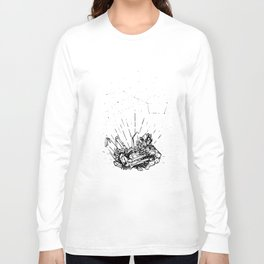 Magical Smoked Quartz Long Sleeve T-shirt