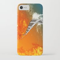 piano iPhone & iPod Cases featuring Piano by nicky2342