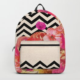 Chevron Flora II Backpack