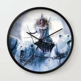 Nano Bears Wall Clock