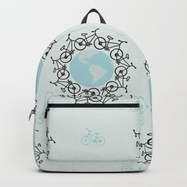 Bicycling Around the World Backpack